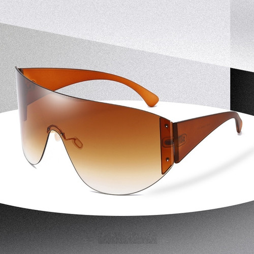 Women Men Oversized Protective Designer Vintage Shield XXL Visor Sunglasses 2020  FUTURISTIC Gafas Lentes Para Mujeres Hombres