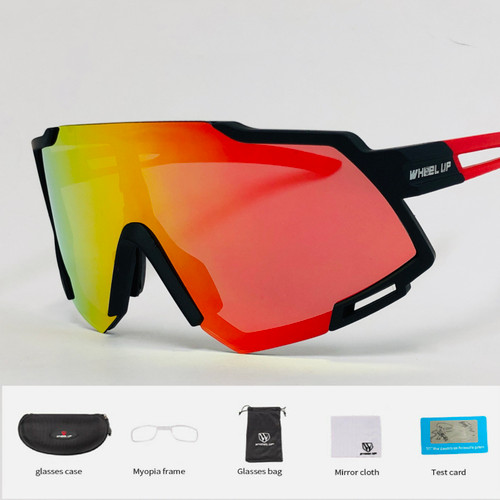 Sports Oversize Polarized Cycling Biker Sunglasses Glasses Beach Ski Goggles Wheel Up Gafas Lentes Para Hombres