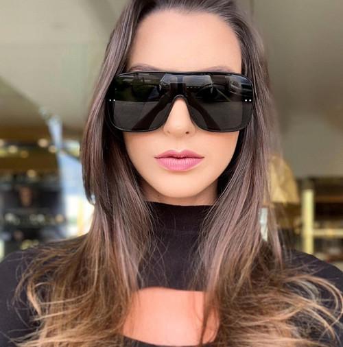 Men Women Designer Sunglasses  Shades Fashion Oversize Flat Lens