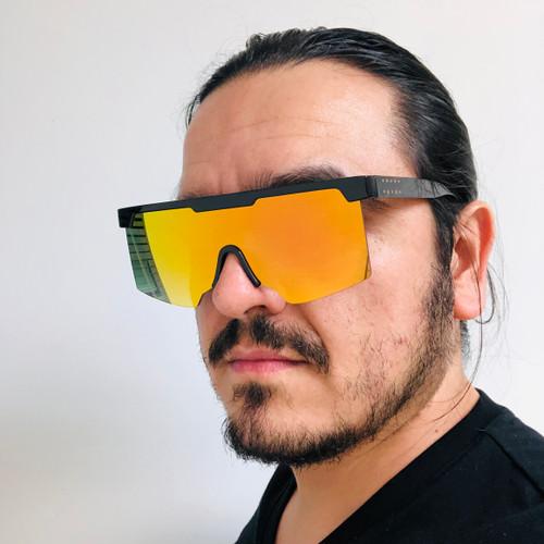 Men Women Designer Sport Sunglasses Shades Fashion Flat Lens