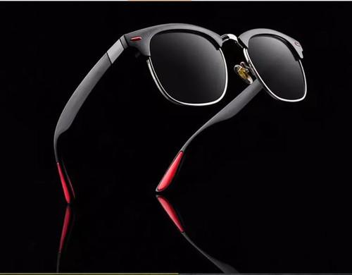 Men Polarized  Sunglasses Square  Designer Retro Vintage Classic  Shades