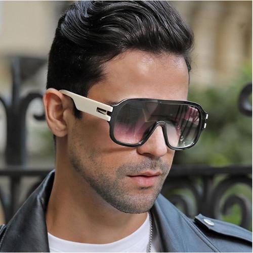 Men Sunglasses Oversized Square  Designer Fashion  Shades