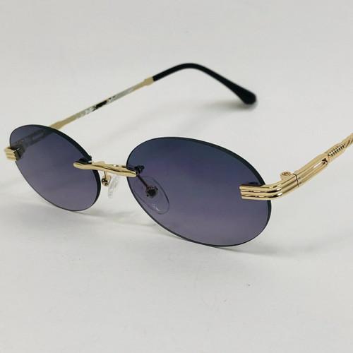 Men Elegant Shades Eye Glasses Hip Hop Migos Style Hippie Small Oval Round Glasses