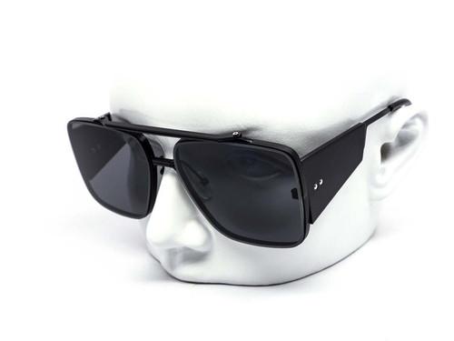 Men Designer Aviator Style Square Sunglasses Elegant Metal Frame