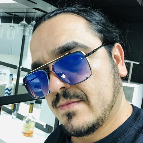 Men Designer Sunglasses Shades Gold Metal Frame Square Style Mach