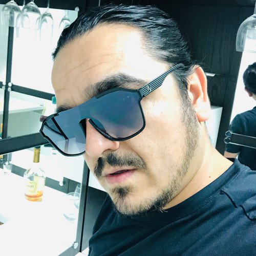 Men Sunglasses Flat Lens Designer Fashion Style Shades