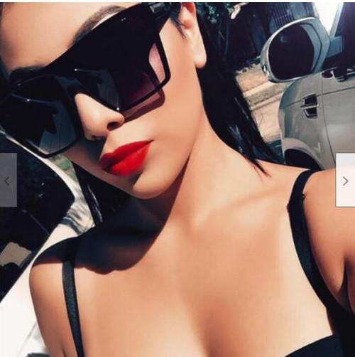Women Sunglasses Fashion Oversized Square XXL Designer