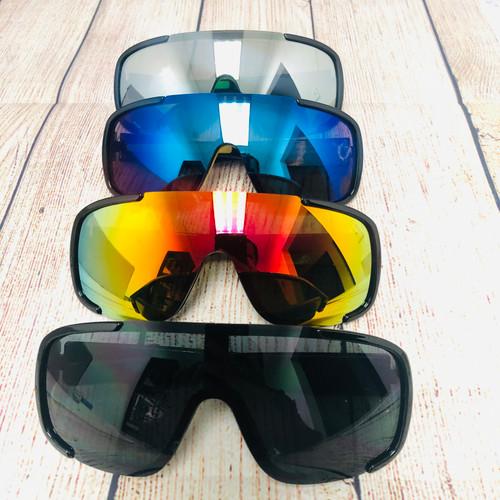 Sport Sunglasses Wrap Around Shades Men Style Outdoor Running