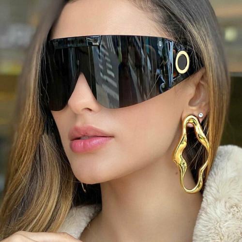 Women Men Oversized Sunglasses Wrap Around XXL