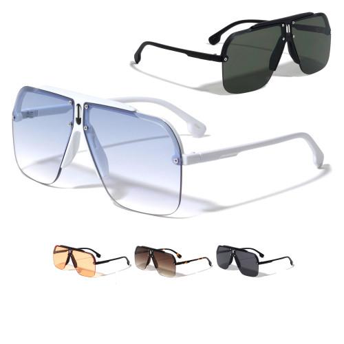 Fashion Sunglasses Designer Square Rimless Shades