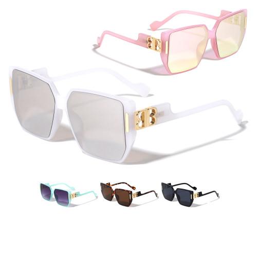 Women  Oversized Sunglasses Square XXL Designer Oversized