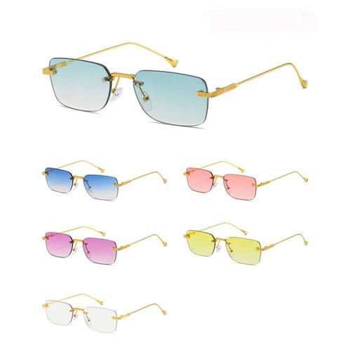 Designer Men Women Fashion Sunglasses Square  Small