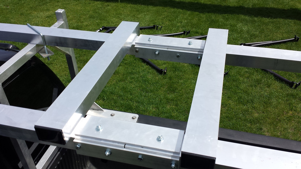 CT 4X System: Box 16X2 Gunwale Rack Connecting Hardware