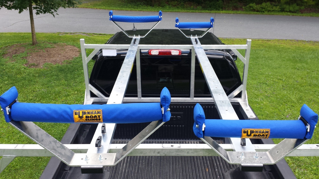 CT 1X 8' Rail shown with both Wide & Narrow Cradles