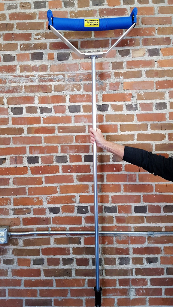"Burnham Boathouse Lift.  5'4"" Aluminum Pole for Strength, Lightness & ease of use Set of (2) pcs."