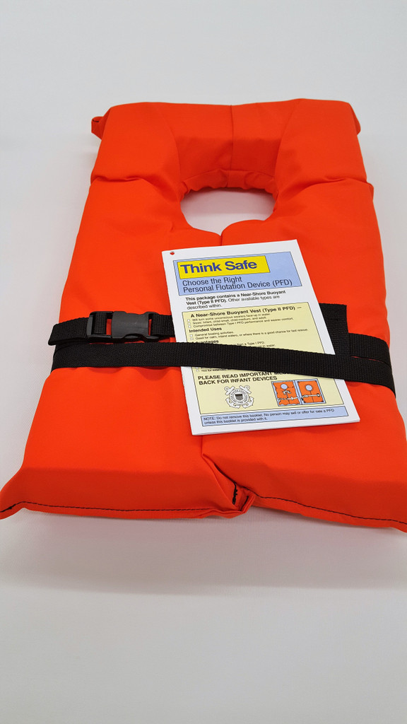 """(1) 24"""" Telescoping Paddle, (1) 50' Throw Line, (1) High Intensity Waterproof Flashlight (batteries included), (1) Safety Air Horn, (1) Waterproof First Aid Kit, (9) Emergency Rescue Blankets, (11) Adult Type 11 PFD"""