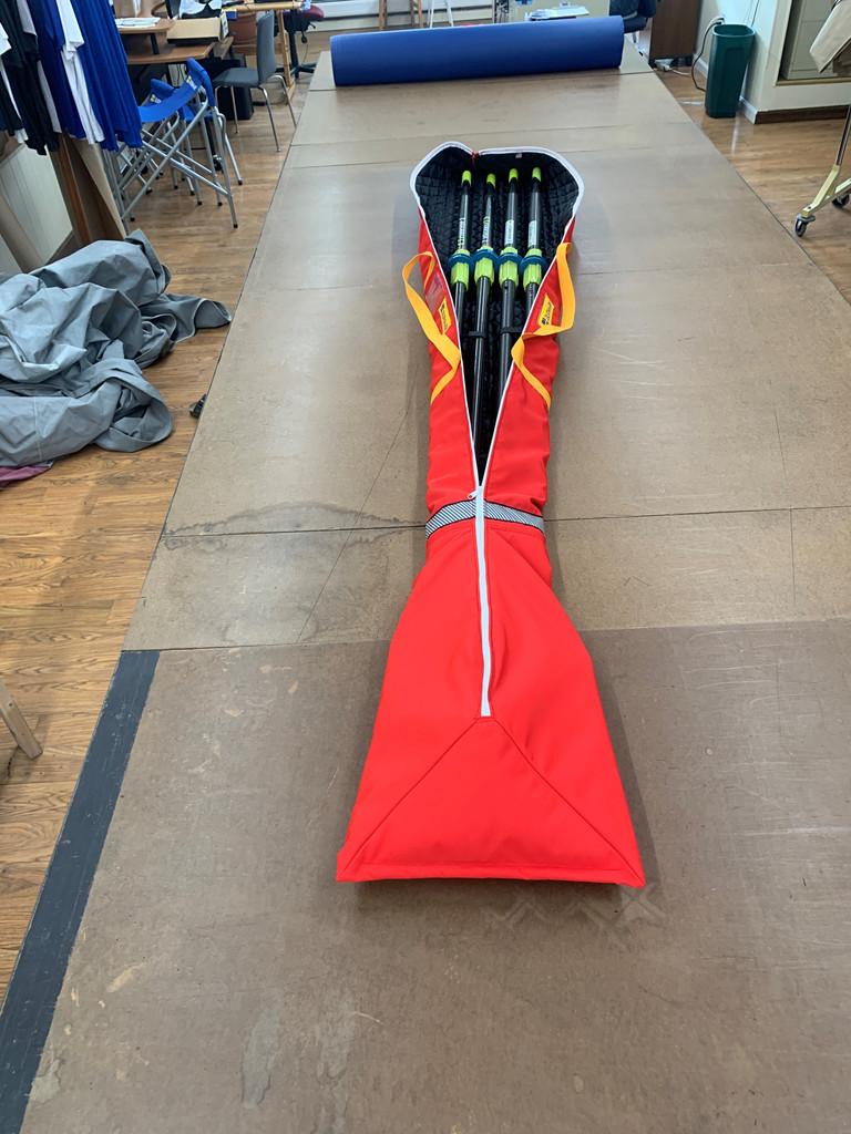 Double Oar Bag in WeatherMAX®, sculling blades