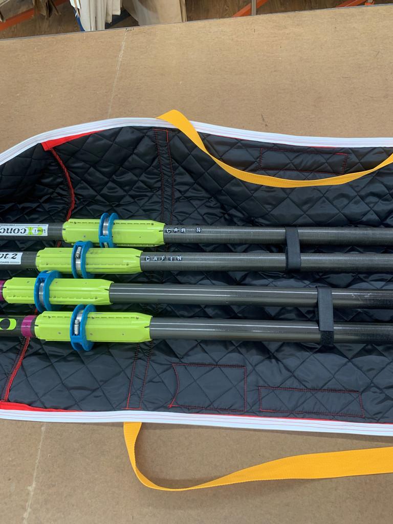 Double Oar Bag in WeatherMAX®, velcro closure