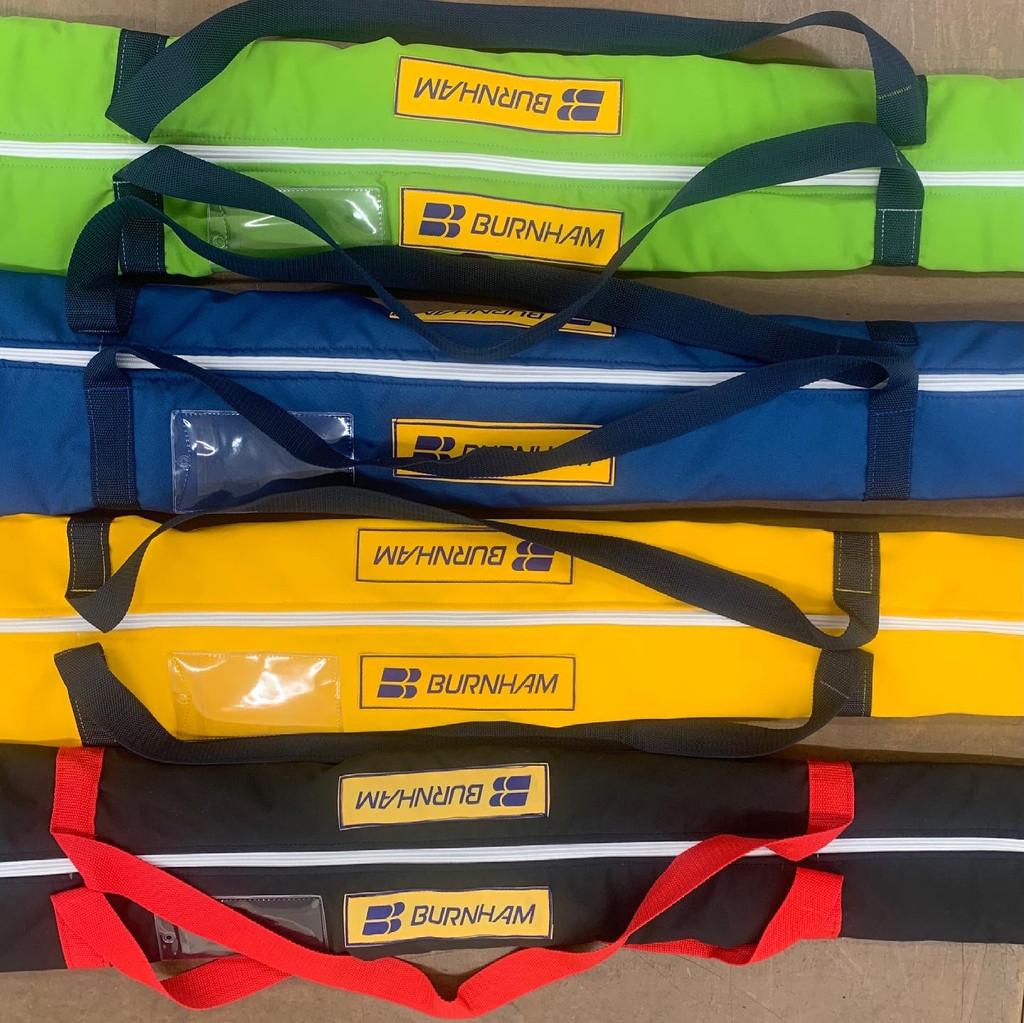 Custom Oar Bag in WeatherMAX. Travel  anywhere you can row!