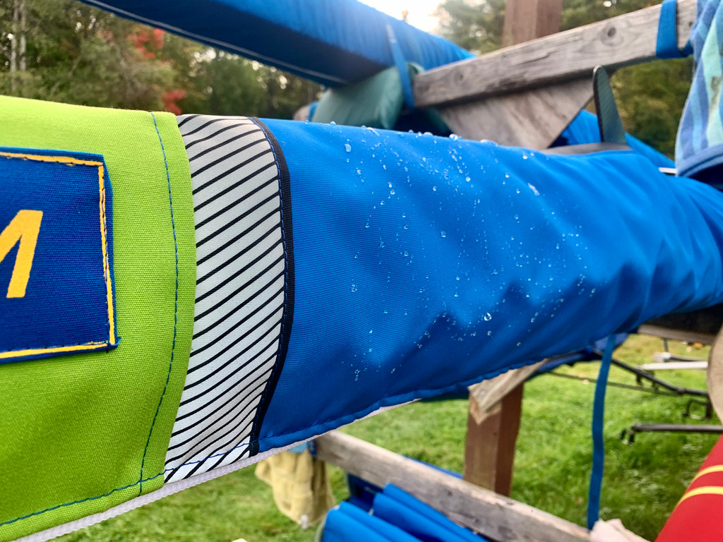 WeatherMax Fabric is tough yet supple - protects against UV damage and is breathable yet highly water resistant.