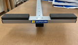 """NEW!  Updated T-Bar.  Rounded 1.5"""" rail, powder coated, 1/2"""" adhesive padding.  Great for carrying your 2X!"""