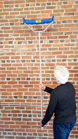 """5'4"""" Pole for Height & Easy Handling"""