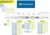 Surf Ski 2X Measurement
