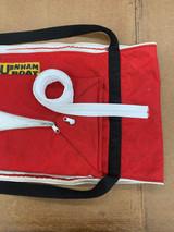 Oar bag awaiting new YKK #8 zipper
