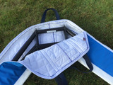 Nylon padding for protection. Protect your wing rigger with the best!