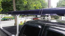 CT 2X System: T-Bar Rack.  Shown with easily mounted 2X.