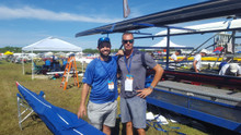 Introducing the Aqualon Edge Soft 1X cove on my Fluid while Racing @ Fisa Masters World in Sarasota with Sam Henry & Sean Wolf, both from Fluidesigns!