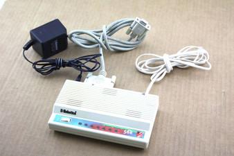 Genuine U.S. Robotics Sportster Faxmodem with x2 56K External Modem W/ AC Adapter & Cables 0459