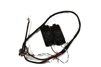 Genuine Hanns G LCD Monitor LCD Monitor Speaker Set B0-0026-H-28C-GP With Cables