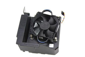 Genuine Dell Optiplex 3020 7020 9020 T1700 Computer Heatsink and Fan Combo SFF W/ Mounting Bracket Shroud RD6XX