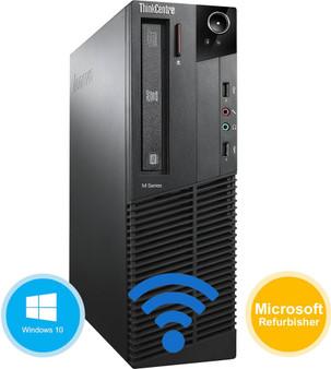 Lenovo ThinkCentre M92p Desktop Core i7 Up to 3.9GHz 8GB 120GB SSD Windows 10
