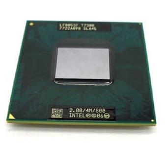 Intel Core 2 Duo Mobile T7300 2Gz/4M/800 SLAMD Laptop Processor 42W7655 LF80537