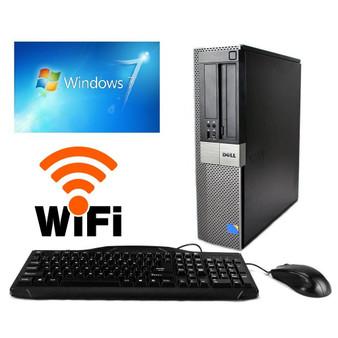 Dell GX960 Desktop C2D 3.0GHZ 160GB 4GB DVDRW WIFI Windows 7 PRO