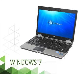 HP EliteBook 2540P Laptop Core i7 2.13GHZ 4GB 250GB DVDRW  Windows 7 PRO 64 Bit
