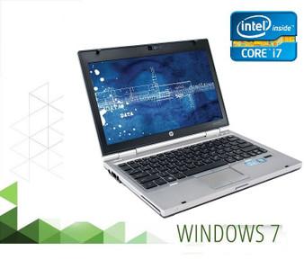 HP EliteBook 2560P Laptop Core i7  2.70GHZ 4GB 160GB SSD DVDRW  Windows 7 PRO 64 Bit