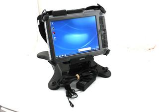 Xplore iX104C5 DMSR Rugged Tablet W/Docking Station 1.07Ghz i7 Processor 80GB SSD 4GB Windows 7 PRO COA