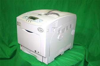 Genuine Ricoh Aficio SP C410DN Color Laser Printer Working As-Is Condition