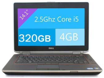 Dell Latitude E6420 Laptop Core i5-2520M 2.50GHZ 4GB 320GB DVDRW  Windows 7 PRO 64 Bit