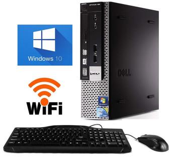 Dell GX780 USFF Core 2 Duo 2.93  PC 4GB RAM 160GB HDD DVDRW Windows 10