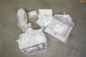 "NEW White Ergotron 12""LCD Laptop Mounting Arm 15"" Lift 180° Panning 20lb Limit 44-389-200-1 99-033-078-00"