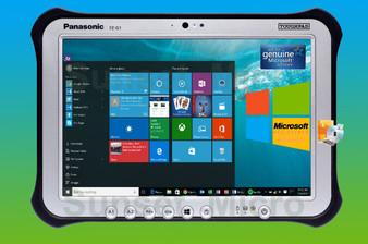 Panasonic Toughpad FZ-G1 Rugged Tablet Win 10 PRO Intel Core i5 3437U 1.90GHz vPro 10.1 Inch WUX G1AABGCLM