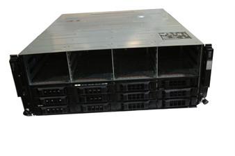 DELL EqualLogic PS6100E E05J E05J001 Storage Array Chasis FFGC3 0FFGC3 W/ HD Fillers No Front Bezel