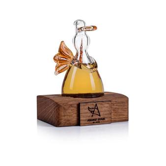 Angel's Share Whisky Angel on Oak Stand