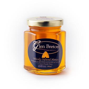 Glen Breton Rare Single Malt Whisky infused honey