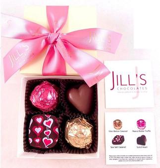 Jill's Chocolates - 4 piece assorted