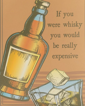 Whisky themed greeting card for any occasion Whisky    Buy Whisky Gifts Online
